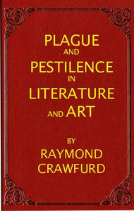 Cover of Plague and pestilence in literature and art
