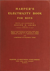 Cover of Harper's Electricity Book for Boys