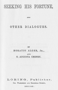 Seeking His Fortune, and Other Dialogues