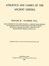 Athletics and Games of the Ancient Greeks