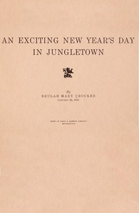 An exciting New Year's day in Jungletown