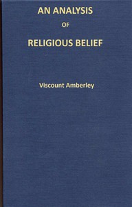 An analysis of religious belief