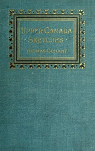 Cover of Upper Canada Sketches