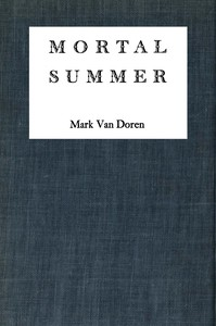Cover of Mortal Summer