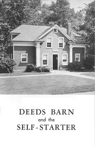 Cover of Deeds Barn and the Self Starter