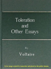Toleration and other essays