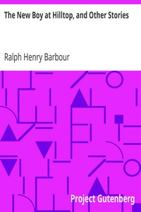 Cover of The New Boy at Hilltop, and Other Stories