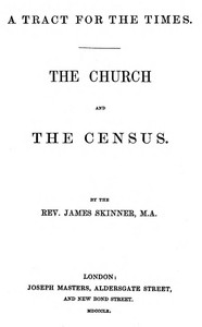 A Tract for the Times: The Church and the Census