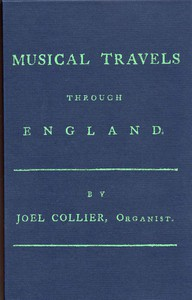 Cover of Musical Travels Through England