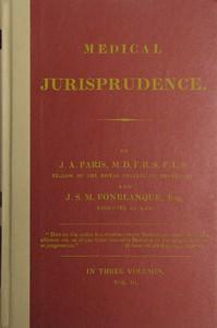 Medical Jurisprudence, Volume 3 (of 3)