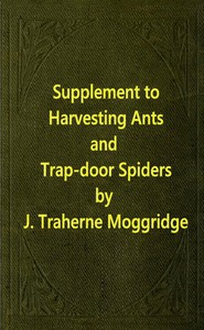 Supplement to Harvesting Ants and Trap-Door Spiders
