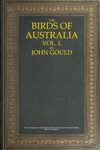 Cover of The Birds of Australia, Vol. 1 of 7