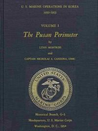 Cover of U.S. Marine Operations in Korea, 1950-1953, Volume 1 (of 5) The Pusan Perimeter