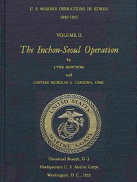 Cover of U.S. Marine Operations in Korea, 1950-1953, Volume 2 (of 5) The Inchon-Seoul Operation