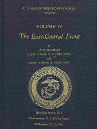 Cover of U.S. Marine Operations in Korea, 1950-1953, Volume 4 (of 5) The East-Central Front