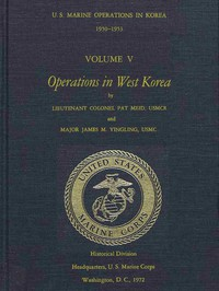 Cover of U.S. Marine Operations in Korea, 1950-1953, Volume 5 (of 5) Operations in West Korea