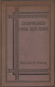 Cover of Disappeared From Her Home: A Novel