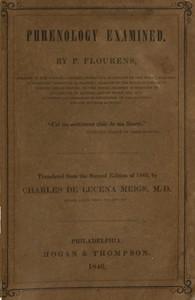 Cover of Phrenology Examined
