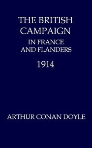 Cover of The British Campaign in France and Flanders, 1914