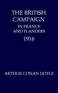 Cover of The British Campaign in France and Flanders, 1916