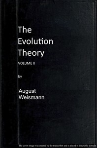 Cover of The Evolution Theory, Vol. 2 of 2