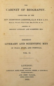 Eminent literary and scientific men of Italy, Spain, and Portugal. Vol. 2 (of 3)