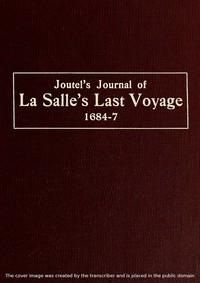 Cover of Joutel's Journal of La Salle's Last Voyage, 1684-7