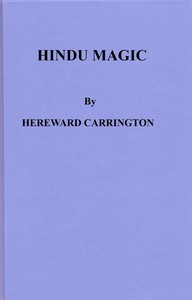 Cover of Hindu Magic: An Expose of the Tricks of the Yogis and Fakirs of India