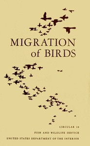 Cover of Migration of Birds (1950)
