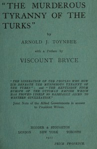"""The Murderous Tyranny of the Turks"""
