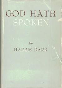 Cover of God Hath Spoken