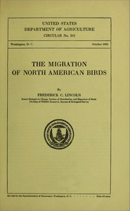 The Migration of North American Birds (1935)