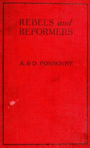 Cover of Rebels and Reformers: Biographies for Young People