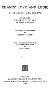 Cover of Chance, Love, and Logic: Philosophical Essays