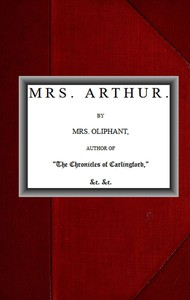 Cover of Mrs. Arthur; vol. 1 of 3