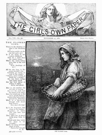 Cover of The Girl's Own Paper, Vol. VIII, No. 361, November 27, 1886