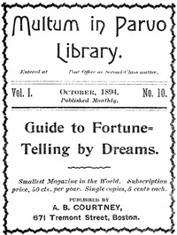 Guide to Fortune-Telling by Dreams