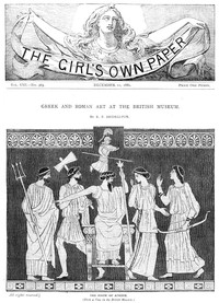 Cover of The Girl's Own Paper, Vol. VIII, No. 363, December 11, 1886
