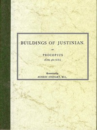 Cover of Of the Buildings of Justinian
