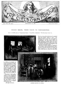 Cover of The Girl's Own Paper, Vol. VIII, No. 364, December 18, 1886