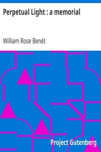 Cover of Perpetual Light : a memorial