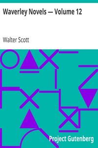 Cover of Waverley Novels — Volume 12