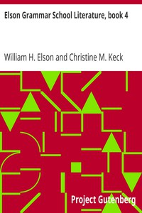 Elson Grammar School Literature, book 4