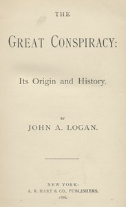 Cover of The Great Conspiracy, Volume 4