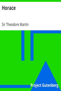 Cover of Horace