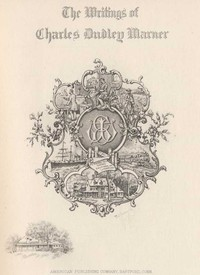 Cover of Quotes and Images From The Works of Charles Dudley Warner