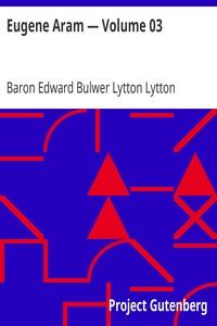 Cover of Eugene Aram — Volume 03