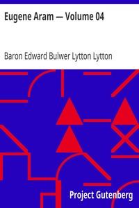Cover of Eugene Aram — Volume 04