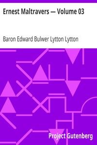 Cover of Ernest Maltravers — Volume 03