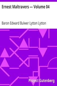 Cover of Ernest Maltravers — Volume 04